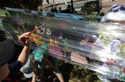 2021-06-16 - Mrówki - Malujemy na folii
