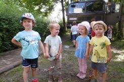 2021-07-15 - Żabki - Zwiedzamy wóz bojowy