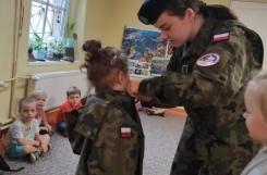 2021-07-16 - Kotki - Spotkanie z absolwentką w mundurze