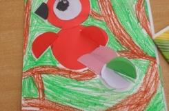 2021-07-05 - Sowy - Papuga - wycinamy Origami