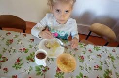 2021-09-07 - Biedronki - Samodzielne przygotowalismy śniadanie
