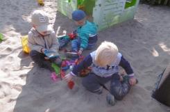 2021-09-15 - Żabki - Zabawy w ogrodzie przedszkolnym
