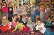 2015-12-21 - Mrówki, Motylki - Bieg sztafetowy z listem do Mikołaja